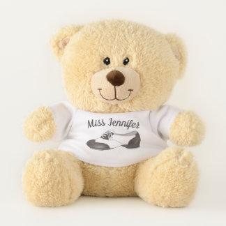 Personalized Dance Teacher Oxford Tap Tapdance Teddy Bear