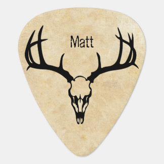 Personalized Deer Stag BUCK Guitar Pick