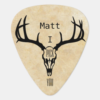 Personalized Deer Stag BUCK Pick
