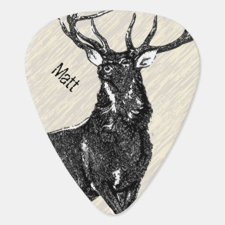 Personalized Deer Stag Pick