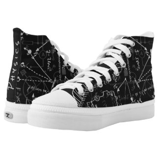 Personalized Designer Physics Gifts for Physicists High Tops