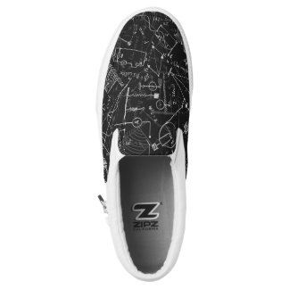 Personalized Designer Physics Gifts for Physicists Slip-On Sneakers