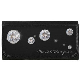 personalized diamonds wallets