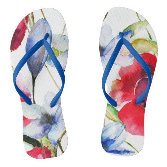 Personalized DigitalprintArtstore Flip Flops