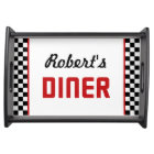 Personalized Diner Serving Tray