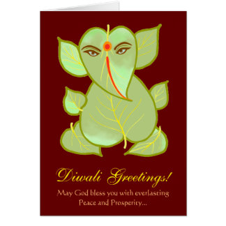 Personalized Diwali Greetings Card
