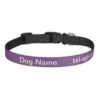 Personalized dog collar! pet collar