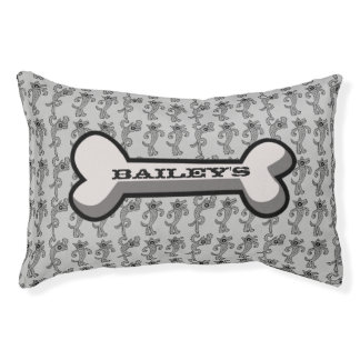 Personalized Dog Name Small Dog Bed