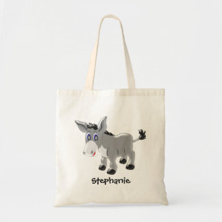 Personalized Donkey Design Tote Bag