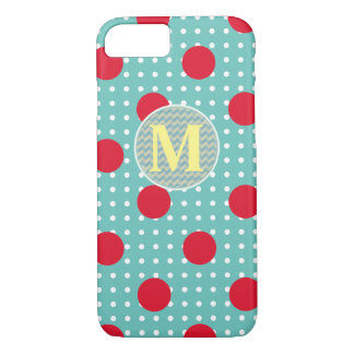personalized dotted design iPhone 7 case