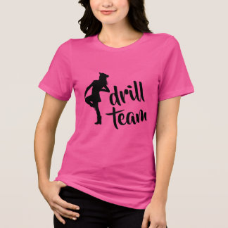 Personalized Drill Team Girl T-Shirt