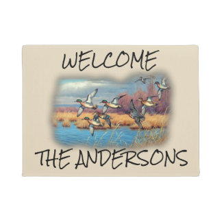 Personalized Duck Season Doormat