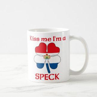 Personalized Dutch Kiss Me I'm Speck Mugs