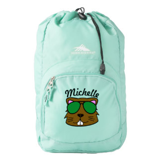 Personalized Eager Beaver Backpack