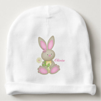 Personalized Easter Bunny Baby Beanie