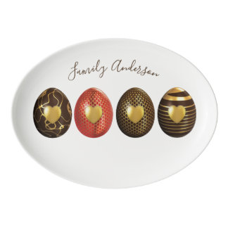 Personalized EASTER Dinnerware Dining Platter