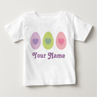 Personalized Easter Egg Holiday Gift Baby T-Shirt