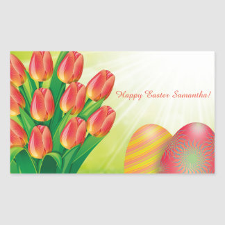 Personalized Easter Sticker