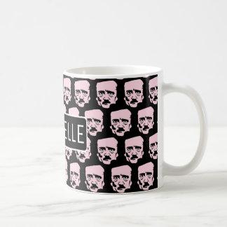 Personalized Egar Poe Coffee Mug