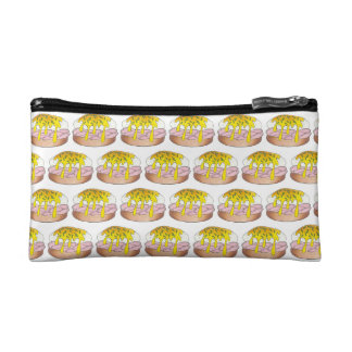 Personalized Eggs Benedict Breakfast Food Diner Cosmetic Bag