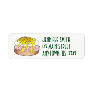 Personalized Eggs Benedict Food Foodie Cook Chef
