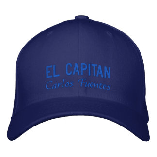 Personalized El Capitan Embroidered Hat