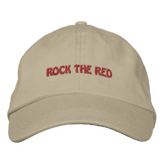 Personalized Election Rock the Red Embroidered Hat