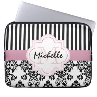 Personalized elegant laptop sleeve