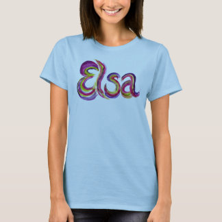 Personalized Elsa T-shirt