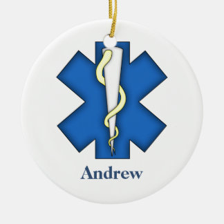 Personalized Emergency Medical Technician Ornament
