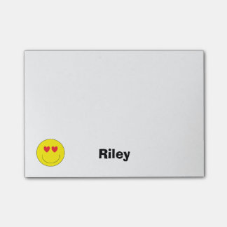 Personalized Emoji Post-it Notes
