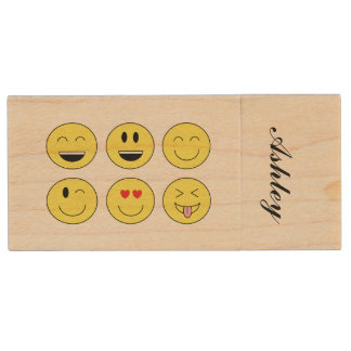 "Personalized ""Emojis"" Flash Drive"