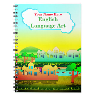 Personalized English and Language Art NoteBook