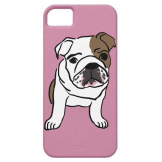 Personalized English Bulldog Puppy Case For The iPhone 5