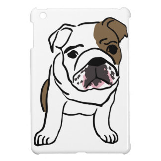 Personalized English Bulldog Puppy Cover For The iPad Mini