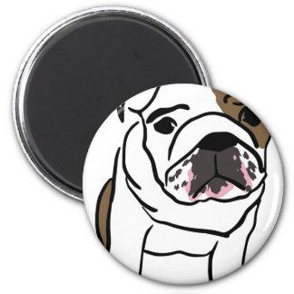 Personalized English Bulldog Puppy Magnet