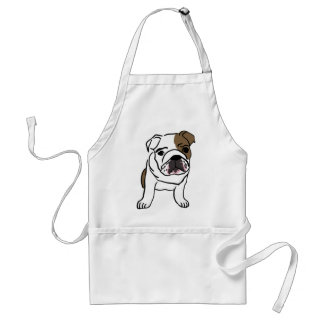 Personalized English Bulldog Puppy Standard Apron