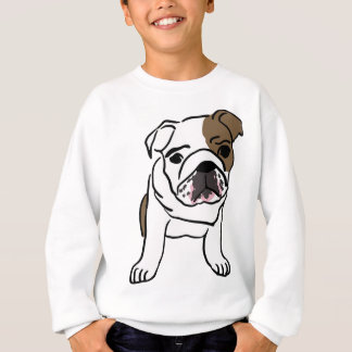 Personalized English Bulldog Puppy Sweatshirt