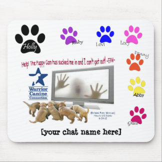 Personalized EPW Camera Trap mousepad