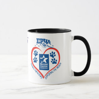 Personalized EPW Heart Mug