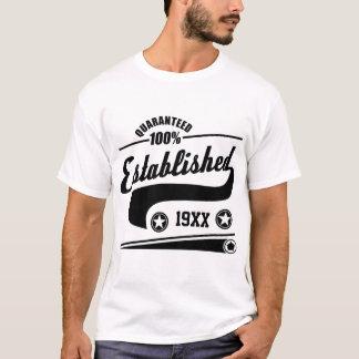 PERSONALIZED ESTABLISHED 19XX T-Shirt