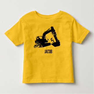 Personalized Excavator Shirt