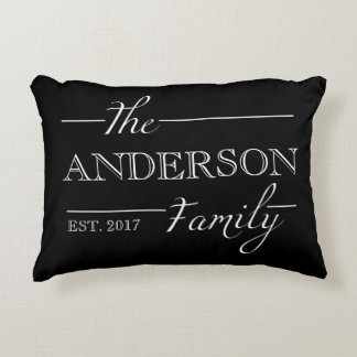 Personalized Family Gift Custom Name Home Decor Decorative Pillow