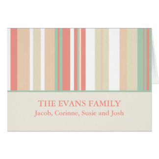Personalized Family Note Cards