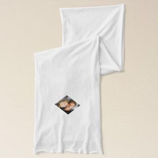 Personalized family photo custom design scarf