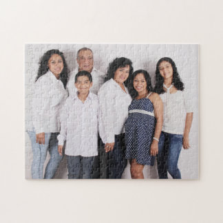 Personalized Family Photo Jigsaw Puzzle