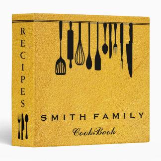 Personalized Family Recipe Cookbook Binder