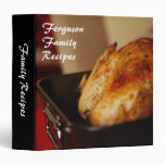 "Personalized Family recipes 1.5"" avery binder"