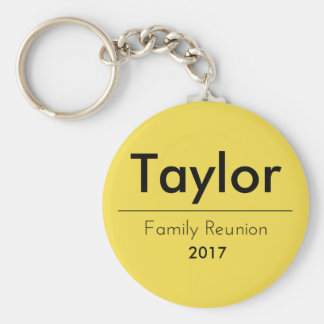 Personalized Family Reunion Keychain