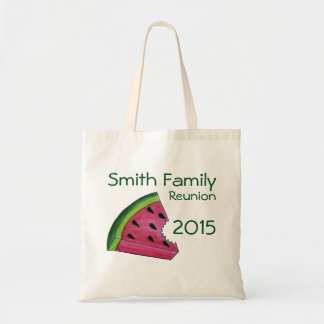 Personalized Family Reunion Watermelon Slice Tote